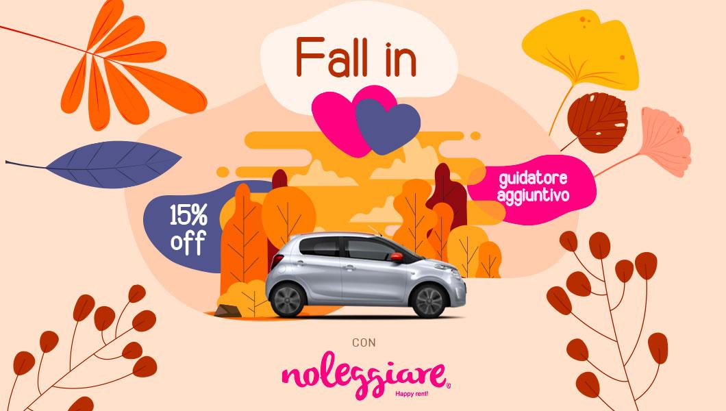 noleggiare promozione autunno