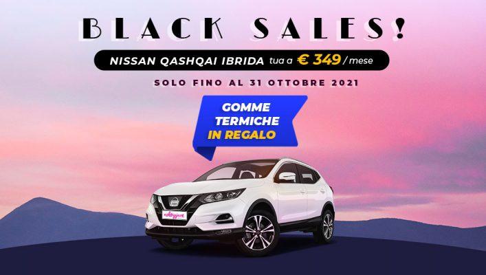Nissan Qashqai noleggio lungo termine